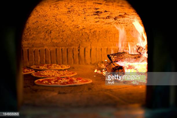 pizza oven , craft in iitaly - pizza oven stock photos and pictures