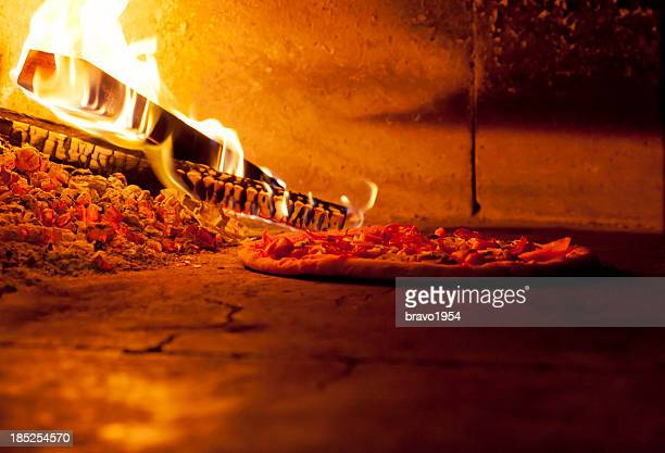 pizza oven - pizza oven stock photos and pictures