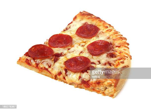 pizza slice - pepperoni pizza stock photos and pictures
