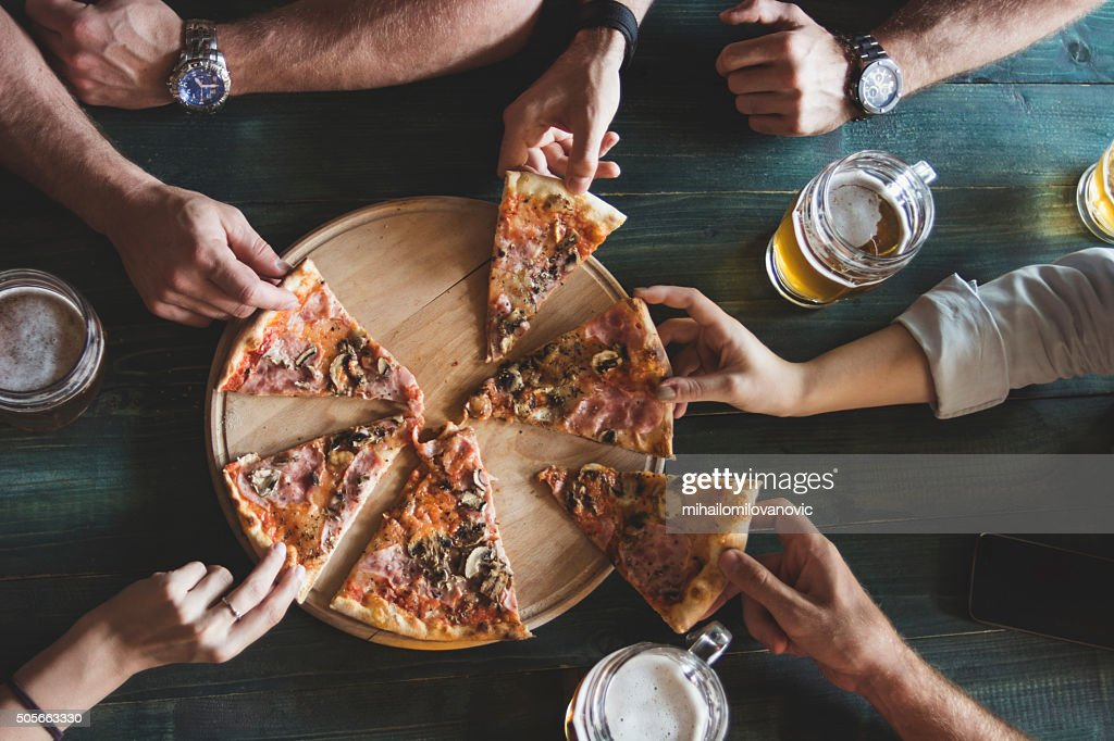 Pizza time! : Stock Photo