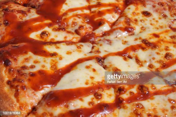 Pizza Traditional Italian Dish  with Cheese and Dressing