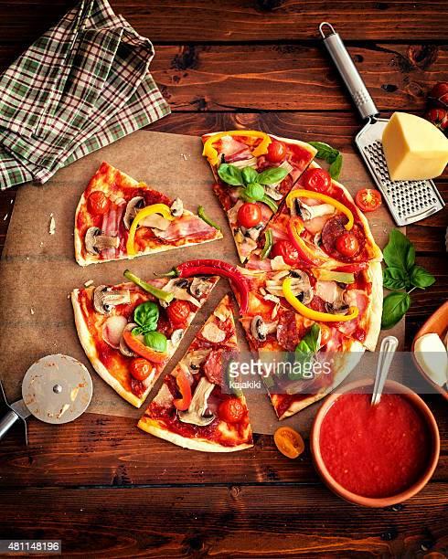 ピザの食材