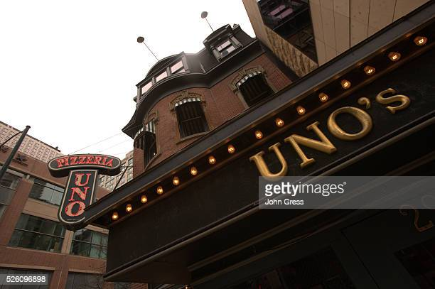 Pizzeria Uno as seen in Chicago January 20 2010 The parent of the Uno Chicago Grill pizza chain has filed for bankruptcy after sales fell and...