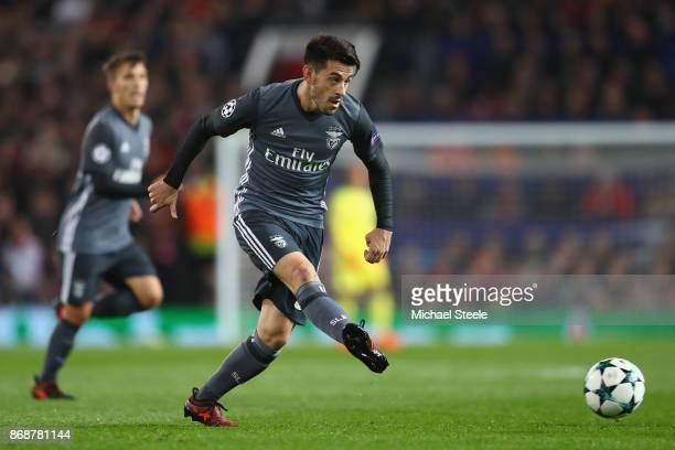 Pizzi of Benfica during the UEFA Champions League group A match between Manchester United and SL Benfica at Old Trafford on October 31 2017 in...