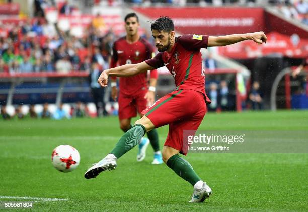 Pizzi of Portugal shoots during the FIFA Confederations Cup Russia 2017 PlayOff for Third Place between Portugal and Mexico at Spartak Stadium on...