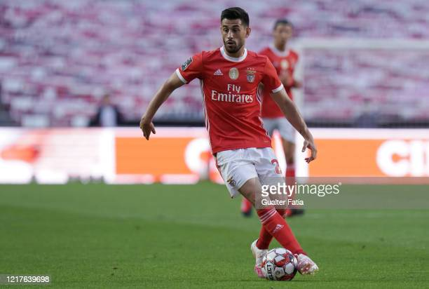 Pizzi of SL Benfica in action during the Liga NOS match between SL Benfica and CD Tondela at Estadio da Luz on June 4 2020 in Lisbon Portugal
