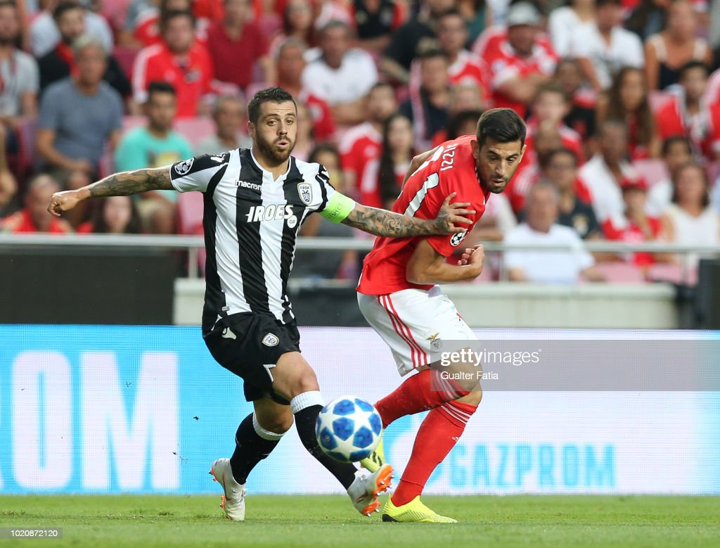 Benfica v PAOK - UEFA Champions League Play Off