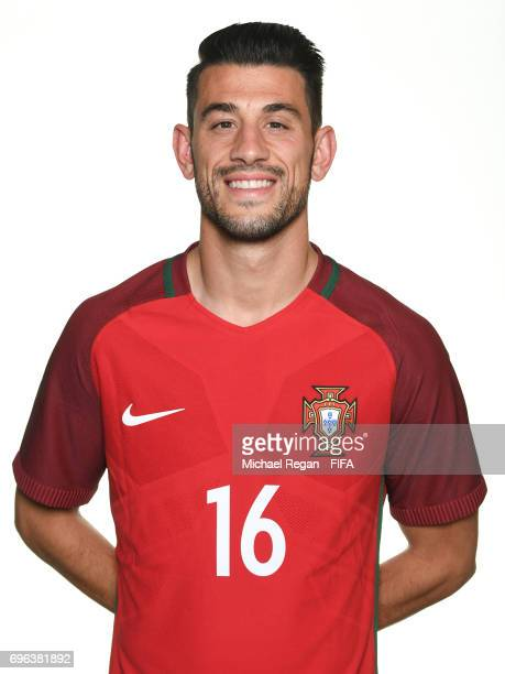 Pizzi poses for a picture during the Portugal team portrait session on June 15 2017 in Kazan Russia