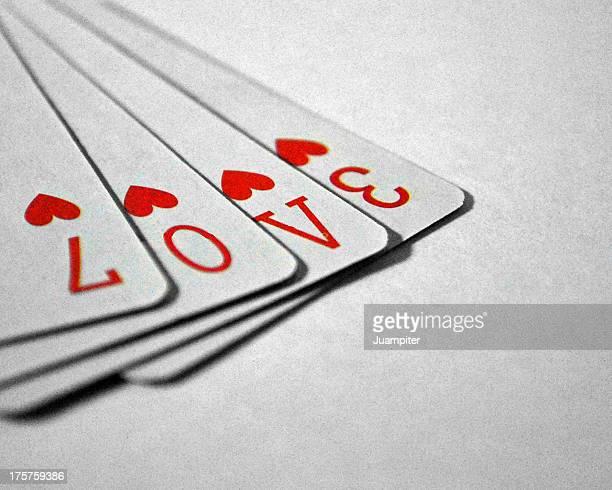 Póker de corazones