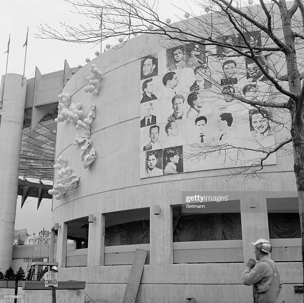 Thirteen Most Wanted Men by Andy Warhol : Nachrichtenfoto