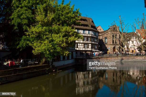 Place Benjamin Zix,Petite France district, Strasbourg, Bas Rhin,Alsace, France