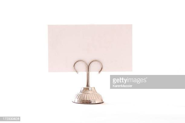 Place Card with holder