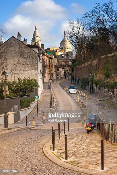 Place dalida, Montmartre, Paris, France