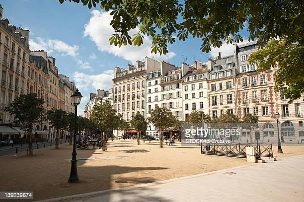 Place Dauphine, Ile de la Cite, Paris, France