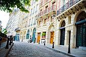 Place Dauphine on Île de la Cité in Paris, France