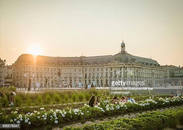 Place de la Bourse, Bordeaux, Aquitaine, France