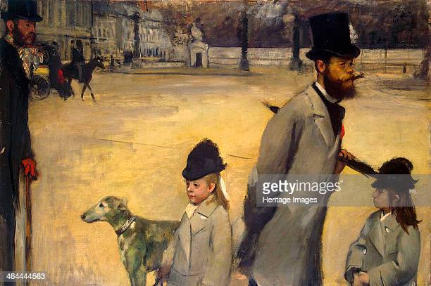 'Place de la Concorde' 1875 Degas Edgar Found in the collection of the State Hermitage St Petersburg