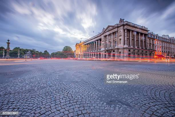 place de la concorde in paris, france - place de la concorde stock pictures, royalty-free photos & images