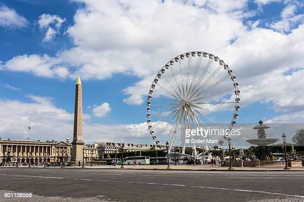 place de la concorde in paris - place de la concorde stock pictures, royalty-free photos & images