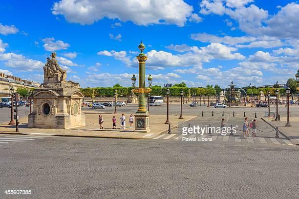 place de la concorde, paris - place de la concorde stock pictures, royalty-free photos & images
