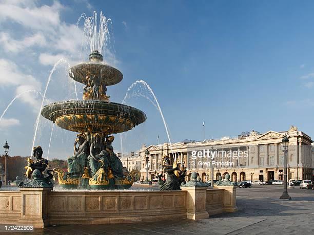place de la concorde - place de la concorde stock pictures, royalty-free photos & images