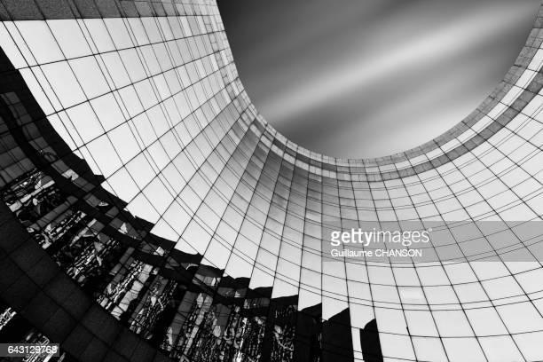 Place de la Pyramide, Financial district of La Défense, Paris, France