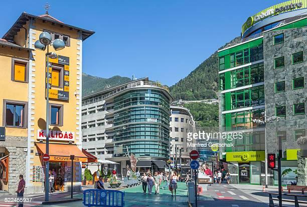 Place de la Rotonda Andorra La Vella