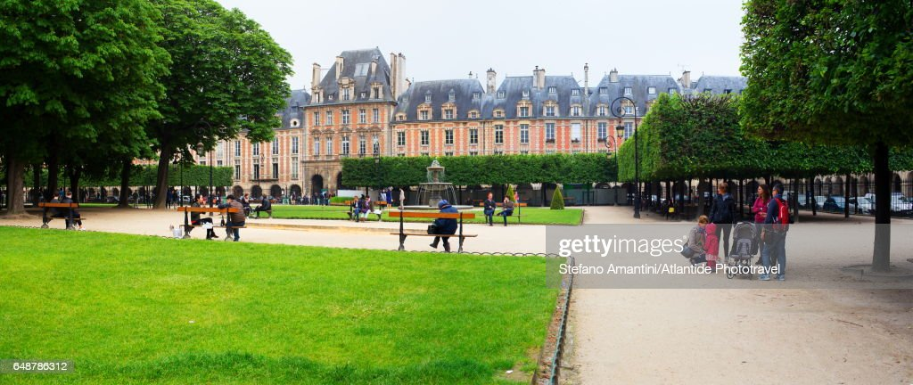 Place de Vosges (square) : Stock Photo