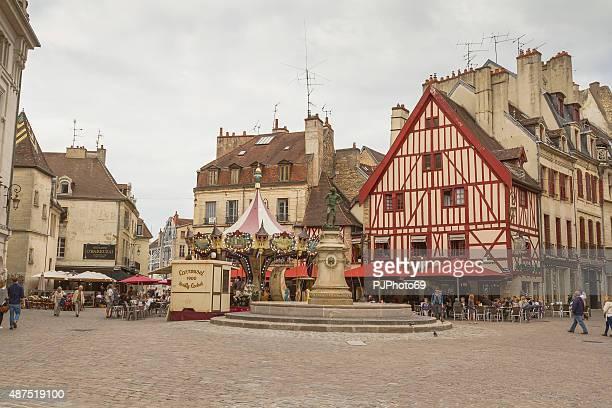 place du bareuzai-digione-francia - pjphoto69 foto e immagini stock