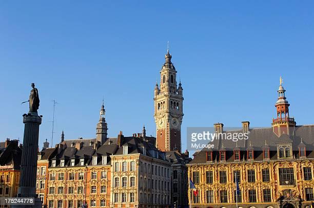 Place du General de Gaulle Lille NordPas de Calais France
