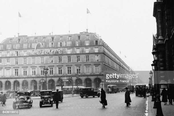 Place du Palais Royal à Paris France en mars 1933