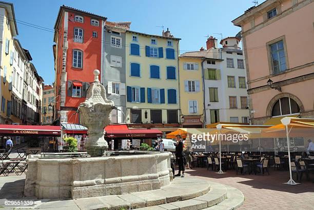 Place du Plot square, Le Puy-en-Velay .