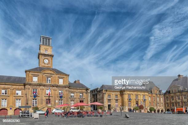 place ducale in charleville mezieres, france - ardennes department france stock photos and pictures