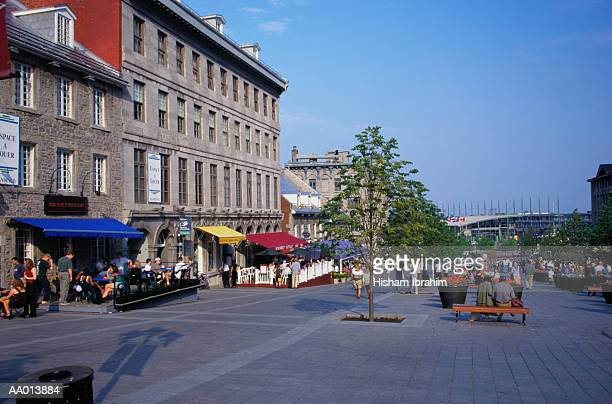 place jacques-cartier in old montreal - place jacques cartier stock pictures, royalty-free photos & images