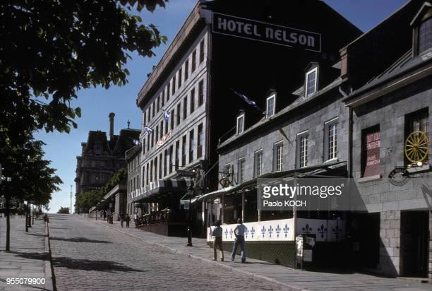 Place JacquesCartier à Montréal en 1975 Canada