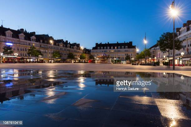 place jeanne hachette in beauvais, france - oise stock photos and pictures