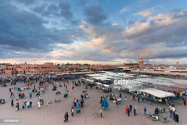 Place Jemaa El Fna (Djemaa El Fna), Marrakesh