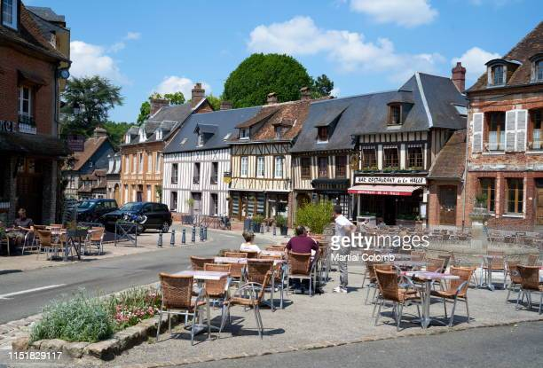 place of a medieval village/ france - martial stock pictures, royalty-free photos & images