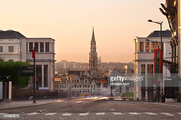 Place Royale In Brussels, Belgium