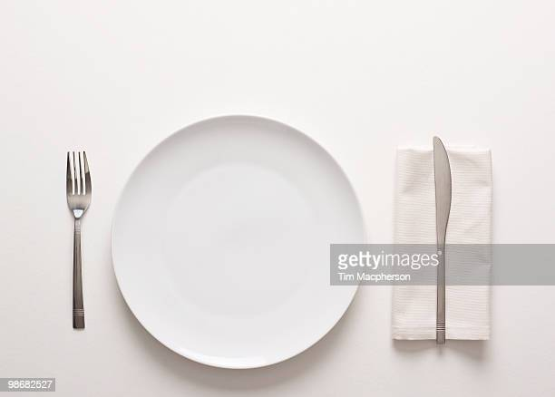 a place setting - table knife stock pictures, royalty-free photos & images