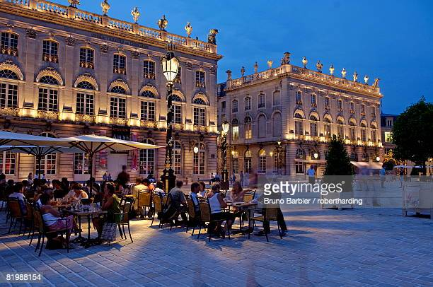 place stanislas, formerly place royale, dating from the 18th century, unesco world heritage site, nancy, meurthe et moselle, lorraine, france, europe - moselle france stock pictures, royalty-free photos & images