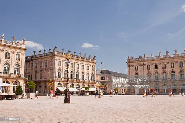 place stanislas in the city of nancy. - nancy stock pictures, royalty-free photos & images