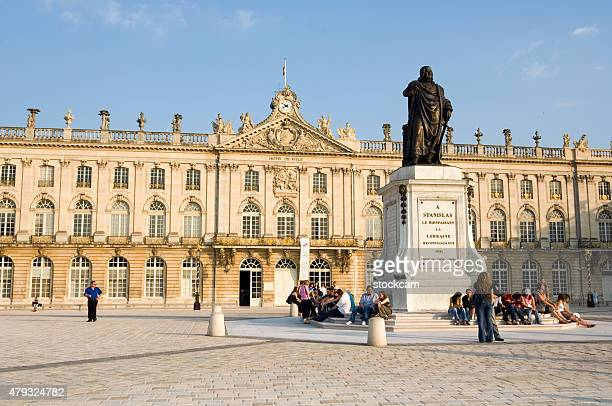 place stanislas, nancy, france - nancy stock pictures, royalty-free photos & images
