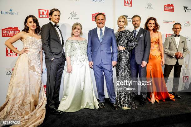 A place to call home Cast arrives at the 59th Annual Logie Awards at Crown Palladium on April 23 2017 in Melbourne Australia