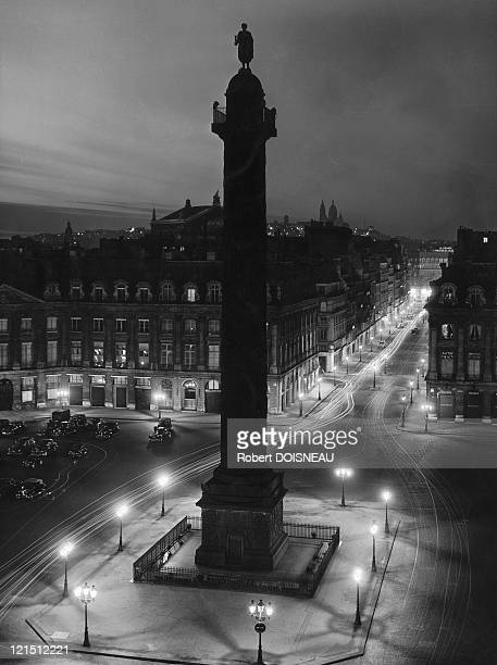 Place Vendome By Night 1949