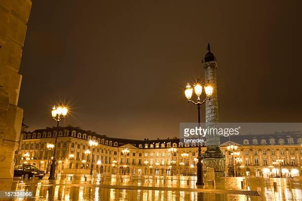 La Place Vendôme, à Paris, France