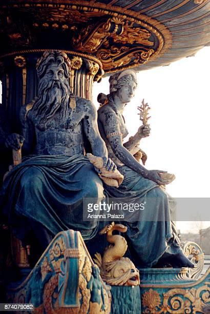 place vendome - mitologia greca foto e immagini stock