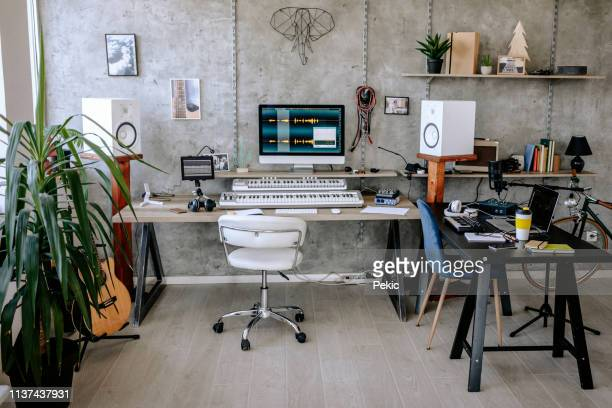 place where music magic starting - recording studio stock pictures, royalty-free photos & images