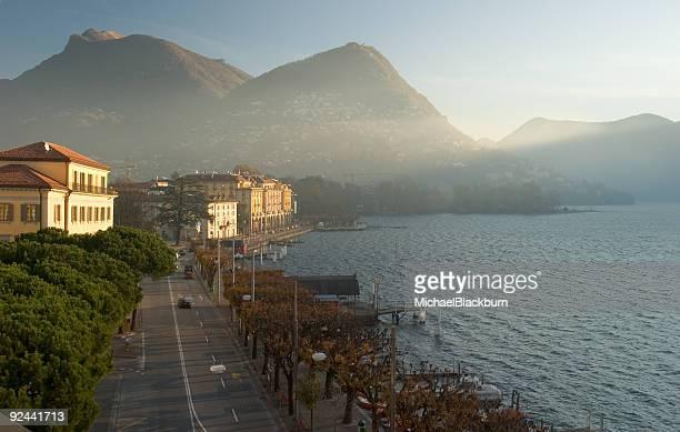 Places - Switzerland, Lugano, Sunrise #1