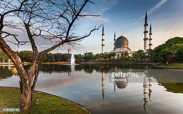 places to visit in malaysia - shah alam stock photos and pictures